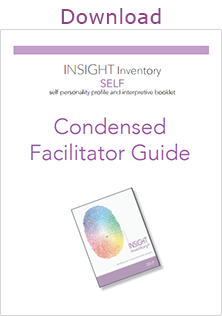 INSIGHT Inventory SELF Facilitator Guide