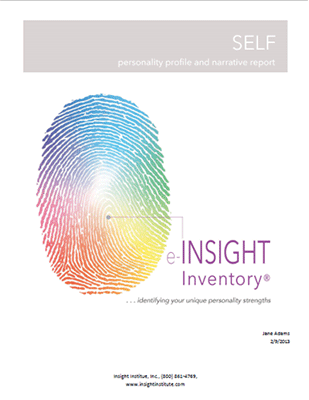 INSIGHT Inventory SELF (Narrative version)