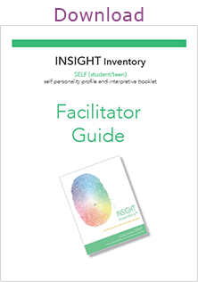 INSIGHT Inventory Strengths Based Assessment Youth Facilitator Guide